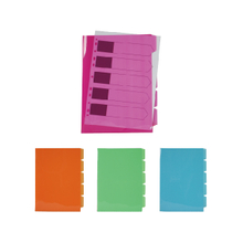 5 HOLD FILES WITH DIVIDER