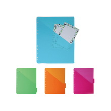 5 PK FILE DIVIDERS WITH POCKET