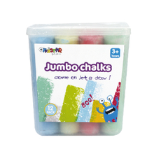 Chunky chalks 12 pack