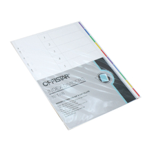 10PK file dividers with pet tab