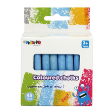 Coloured chalks 48 pack