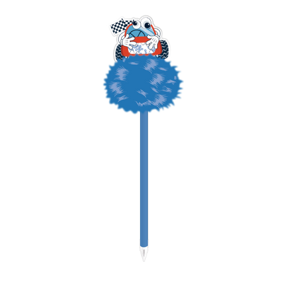 Car Pompom Ball Pen