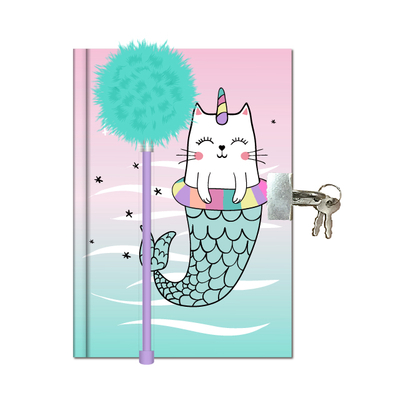 Lockable Notebook With Pen